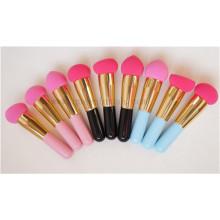 Mini escova de esponja de maquiagem Multicolor