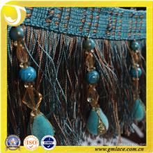 Китай Поставщик Женщины Платья игрушки секс Ткань Костюм Сексуальная коричневая трикотажная ткань Brush Trim