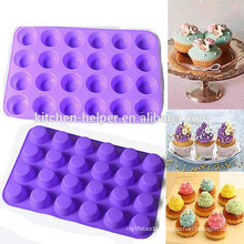 BPA Free Silicone 24 cup Muffin Pan for Baking