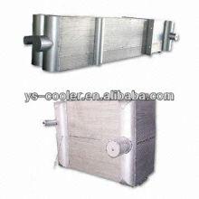 Equipo de evaporador de condensador de aleta tipo aluminio