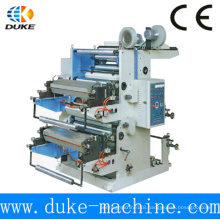 Tow-Color T-Shirt Plastic Bag Letterpress /Flexo Printing Machine for Sale (YT-2600)