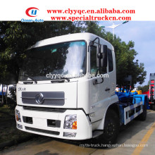 Dongfeng kingrun roll-off skip loader truck for sale
