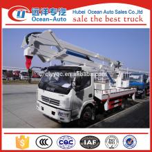 Camion de travail de 18 mètres avec cabine simple DFAC High-altittude