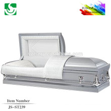 JS-ST239 trade assurance supplier reasonable price adult steel caskets