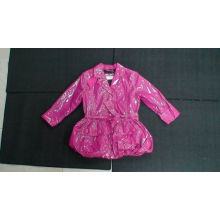 Pink Waterproof Girls Jacket Custom Various Boutique Childrens Clothing
