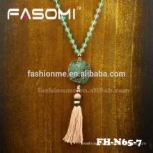 handmade gemstone green stone necklaces