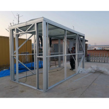 Cheap and durable Galvanized cold-formed steel framing for light steel villa frame , Light weight steel material for building