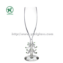 Single Wall Champagne Glass by SGS, BV (DIA 6*24)