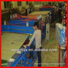PP,PE sunlight board hollow grid board production line