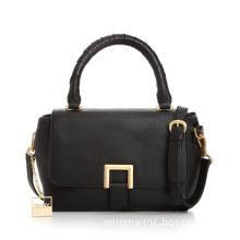 Black PU Handbag/Lady Bags/Fashion Handbag (E250051)