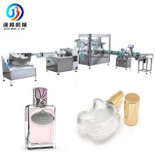 JB-PX4 Spray Bottle Filling Production Line Perfume Spray Filling And Capping Machine Production Line