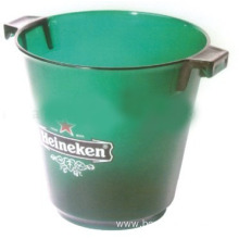 High quality plastic round ear ice bucket