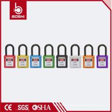 2016 OEM com Garantia de Qualidade Fábrica Diretamente de aço e cadeado de segurança de nylon BD-G11 LOTO bloqueio com chaveada e diferente