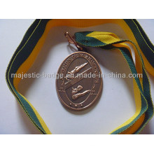 Customized Gold Plating Sport Medallion