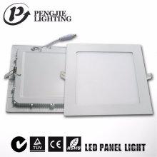 Ультра тонкий 6 Вт светодиодная панель (квадрат)