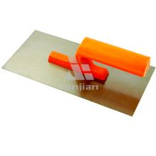 Plastic Handle Carbon Steel Plastering Plastic Trowel