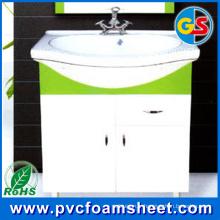 Feuille de mousse de Cabinet de PVC pour la construction de maison (densité: 0.5 et 0.55g / cm3)