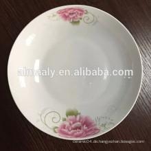 Dekorative keramische China-Obsttellerplatten