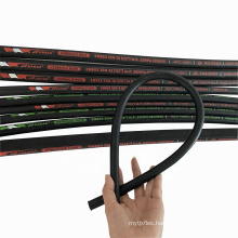3/8 inch SAE 100R2AT/2SN high pressure steel wire braid oil resistant rubber nail excavator hydraulic hose