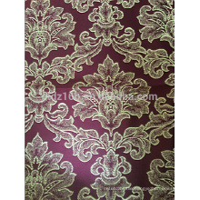 New arrival Big flower design 100% Polyester Jacquard Curtain