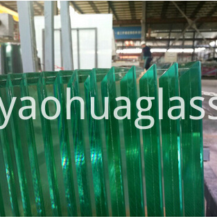 Beveled Laminated Glass