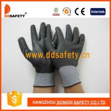 Gants enrubanneux entièrement mince en nitrure en nylon Nylon, CE (DPU420)