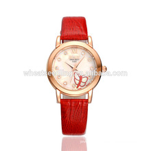 exquisite amazing korean style butterfly quartz girl latest watch hand