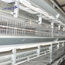 Gaiola de galinhas em camadas série Leon para granjas