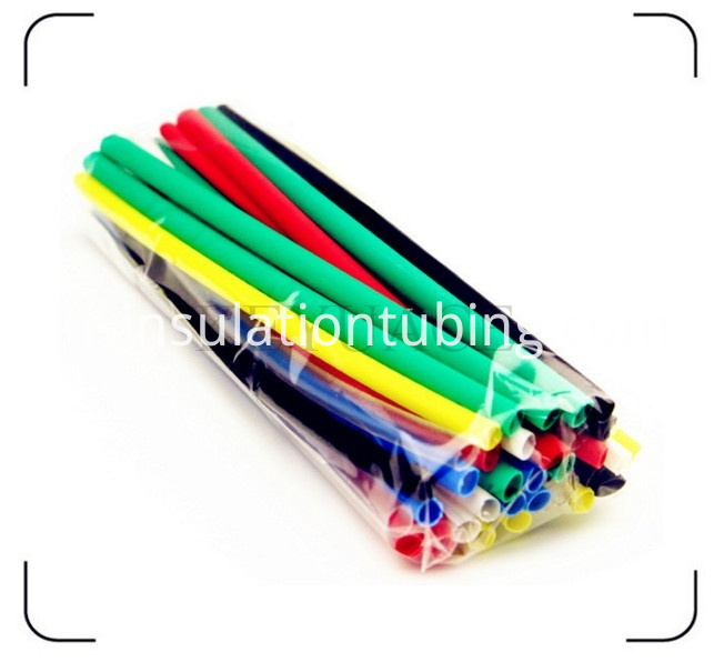 Pack In Plastic Bag Coloured Heat Shrink Tubing