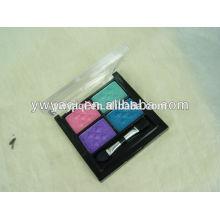 Productos calientes de nuevo, de 4 colores de maquillaje de ojos Sombra de ojos brillo