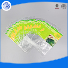 Die cutting and processing plastic packaging bag