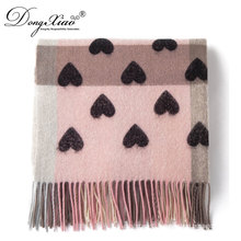 New Products 2017 Innovative Product Plaid Wool Checked Scarfs With Many Loves
