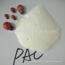 Polvo de polialuminio en polvo PAC blanco seco al 30% de pureza