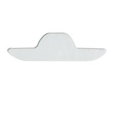 Hot vente collier petite sueur pad non tissé topsheet avec 8g d'absorption