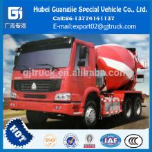 Sinotruk HOWO 10m3 truck mounted concrete mixer