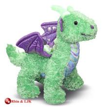 custom promotional lovely plush dragon