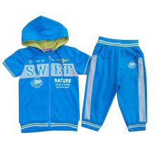 2016 Fashion Boy Suit in Short Sleeve for Children Clothing Ssb-108