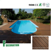 Waterproof Swimming Pool WPC Plastic Wood Flooring