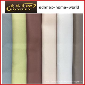 100% poliéster Blackout tecido para cortinas EDM4578