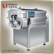 Máquina de mistura de carne de grande capacidade, vácuo