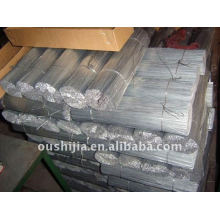 Fil électro-galvanisé rectiligne (usine)