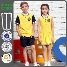 2016 Mädchen Schönes Modell der Schule-Uniform Probe