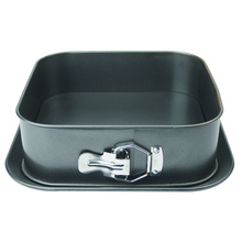 Carbon Square Springform Cake Pan