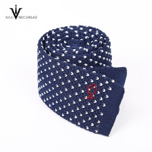 Men's High Quality Custom 100% Silk Knitted Tie