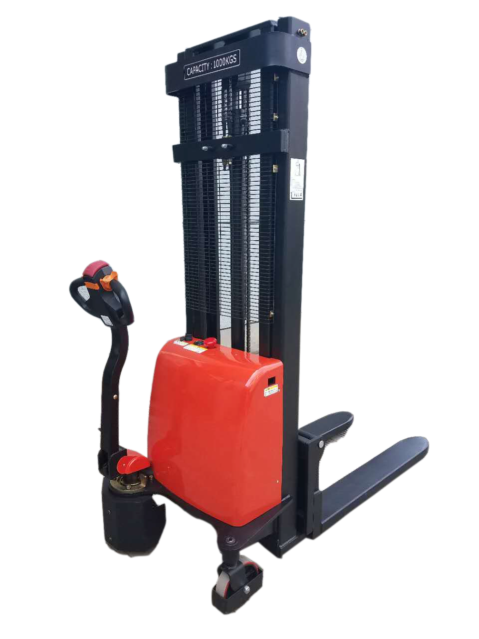 ride-on electric stacker