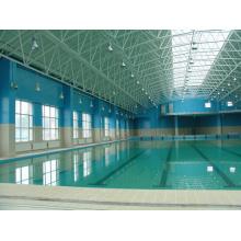 Lange Spanne Stahlstruktur Pool Dach