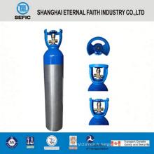 Cylindre de gaz en aluminium à haute pression de 10L (LWH140-10-15)