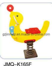 Plastic Spring Rocking Horse Yellow Dophin (JMQ-K165F)