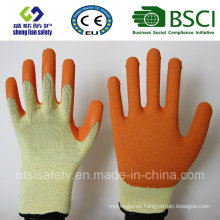 Latex Frosted Gloves, Sandy Finish Safety Work Gloves (SL-R501)