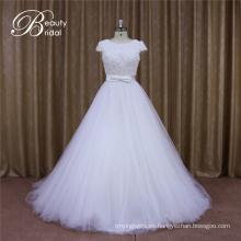 Vestido de novia sin espalda 2016
